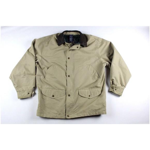 23c5be59afd Gant Jackets & Coats | Vintage 90s Mens Leather Trim Jacket Size L ...